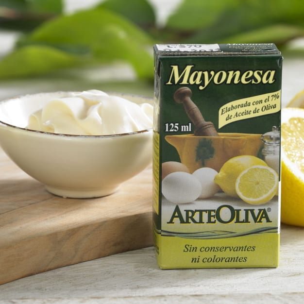 Image for 3 Packages of Mayonesa with Extra Virgin Olive Oil by Arteoliva
