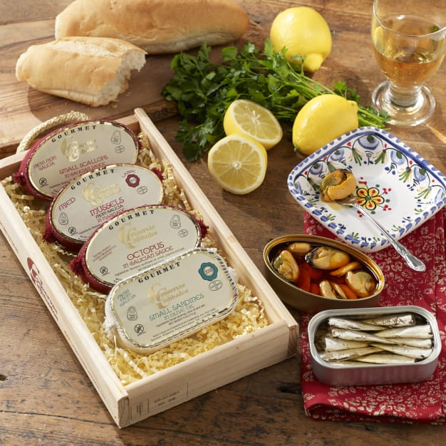 Image for Conservas de Cambados Galician Seafood Gift Box