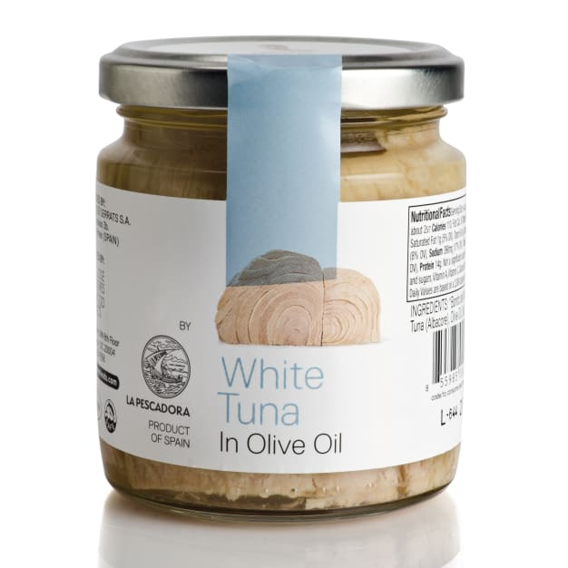 Image for White Tuna in Olive Oil by José Andrés Foods - 8 Ounce Jar