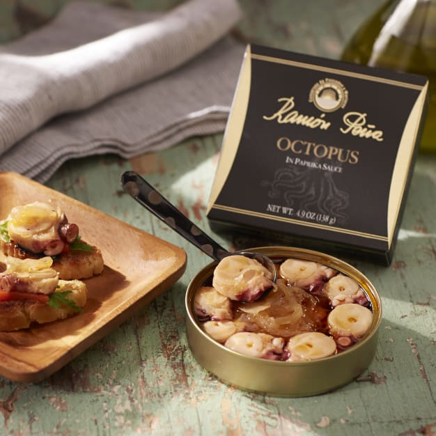 Image for Octopus in Salsa Gallega Marinade by Ramón Peña