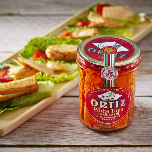 Image for Bonito del Norte Tuna with Espelette Peppers by Ortiz