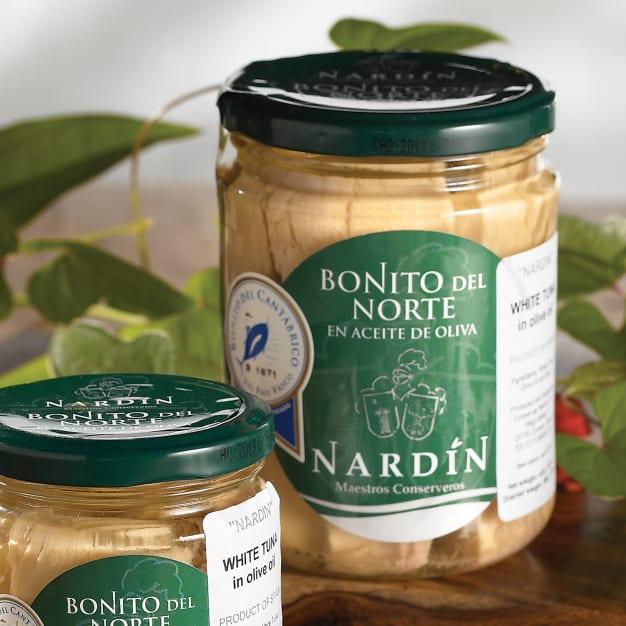 Image for Bonito del Norte Tuna Loin by Nardin (9.8 Ounces)
