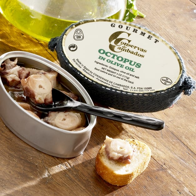Image for Pulpo by Conservas de Cambados - Octopus in Olive Oil