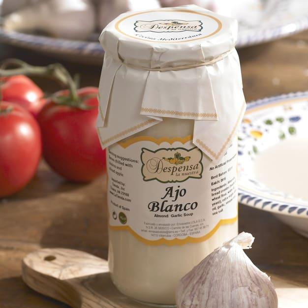 Image for Almond Gazpacho Soup - Ajo Blanco