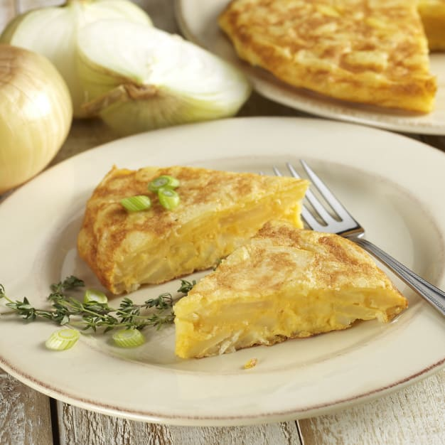 Image for Tortilla Española Potato Omelet with Onions by Peregrino