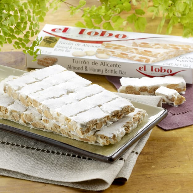 Image for 2 Boxes of Alicante Turron Candy by El Lobo