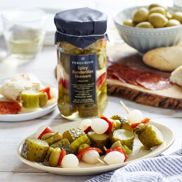 Image for Banderillas en Vinagre - Spicy Pickle Skewers