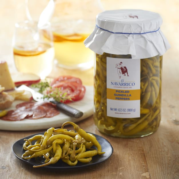 Image for Guindilla Peppers by El Navarrico - Extra Large Jar