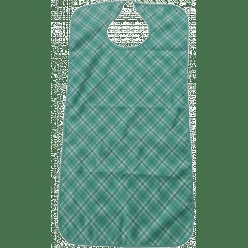Babero microfibra estampado verde Confort Plus