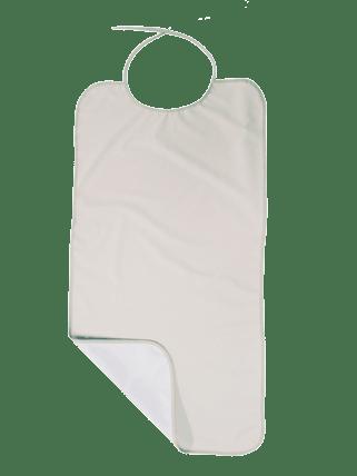 Babero rizo de tiras Saniplus PVC