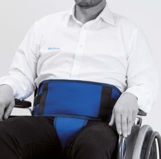 Cinturón perineal para silla de ruedas