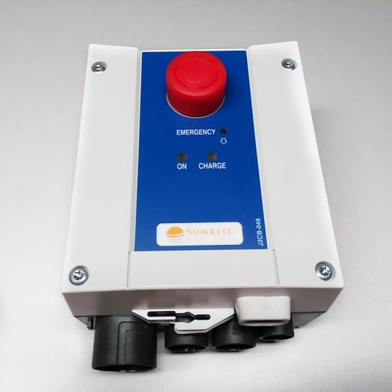 caja de control para grúas