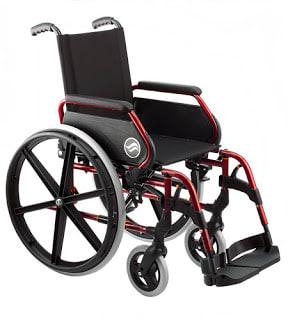 Breezy 250 Silla de ruedas plegable
