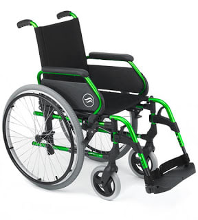 Breezy 300 silla de ruedas plegable
