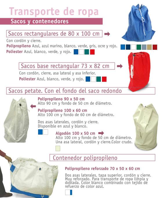 sacos y contenedores de polipropileno