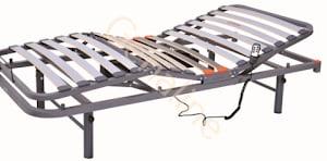 Cama sanitaria eléctrica articulada de 4 planos
