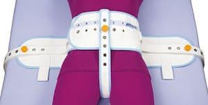 Cinturón abdominal con banda perineal cosida