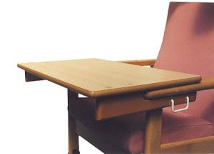Bandeja ajustable para sillón Ergofact