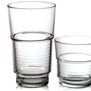 Vaso de cristal Spirale