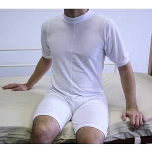 Pijama Corto con cremallera en espalda