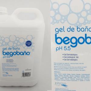 Gel de baño dermatológico Begobaño 5L