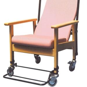 Sillón ergonómico de respaldo alto con ruedas