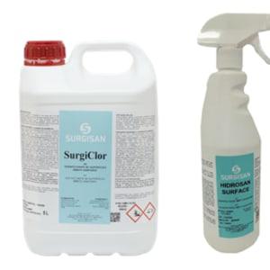 surgiclor desinfectante de superficies