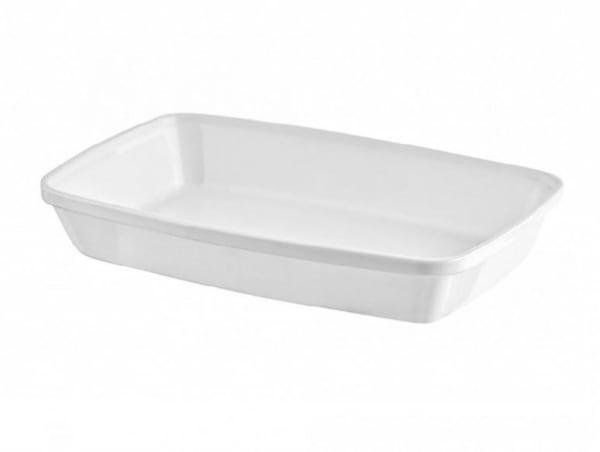 Fuente rectangular de policarbonato de 17cm