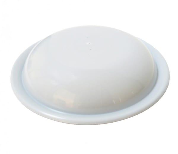 Tapa para plato de 22cm de policarbonato