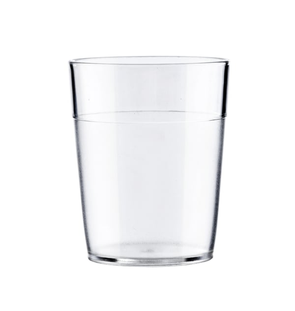 Vaso policarbonato transparente