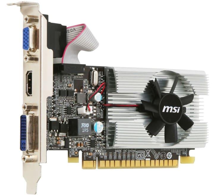MSI N210-MD1G/D3 Low-Profile Graphics Card, 1GB 64-bit DDR3, PCI-E 2.0 x16