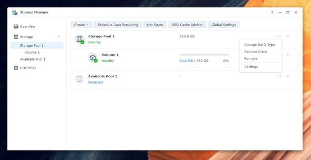 Quản lý và tối ưu hóa ổ cứng dễ dàng, thông minh hơn với bản cập nhật hệ điều hành DSM 7.0 mới trên NAS Synology - Ảnh 5.