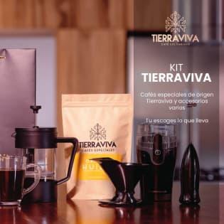 KITS KIT TIERRAVIVA SIN PRECIO | Trabajamos directamente con pequeños y medianos caficultores de CAFÉS ESPECIALES en muchas regiones de Colombia. Cada mes, te traemos lo mejor