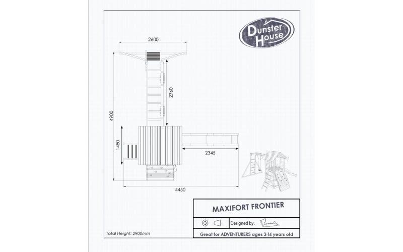 MaxiFort drawing