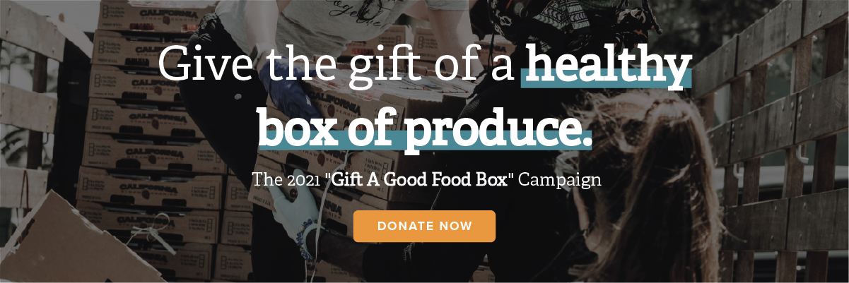 The Gift a Good Food Box Campaign banner photo
