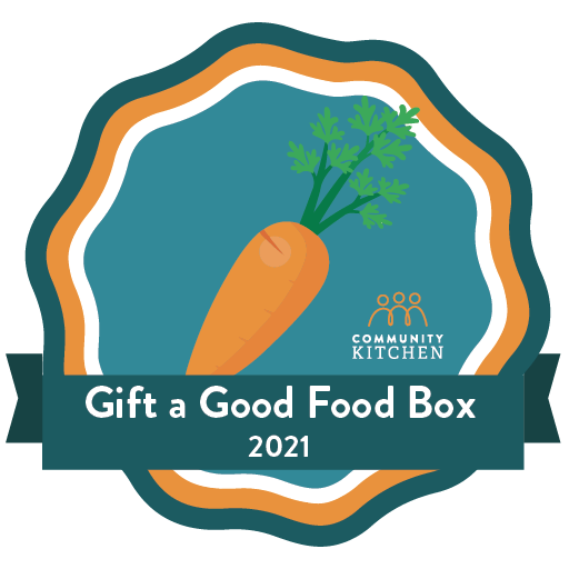The Gift a Good Food Box Campaign badge
