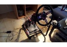 Racing simulator custom, Xbox One, racing, Har den her simulator til forzaog andre fx. det virke.