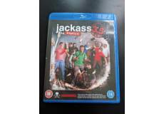 Jackass 3.5, Blu-ray, komedie, Aldrig brugt, da jeg aldrig fik en afspiller til den. 50kr og så.