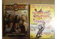 Børnefilm, DVD, familiefilm, Guldhornene (2007), brugt få gange, brugt få gange BølleBob og smuk.