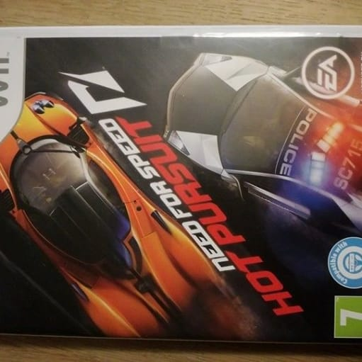 Wiispil 20 pr. stk., Nintendo Wii, action, Need for speed - hot pursuit. Fra 2010, brugt få gange.