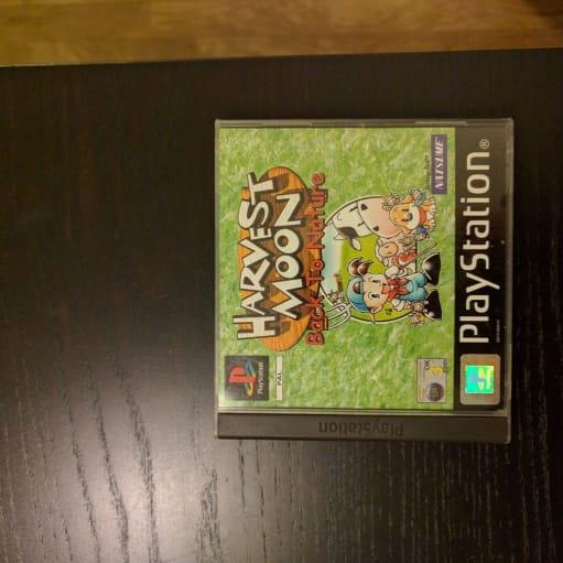 Harvest Moon, PS, simulation, Perfekt stand! Kan sendes fra Aalborg, hvor det også kan afhentes..