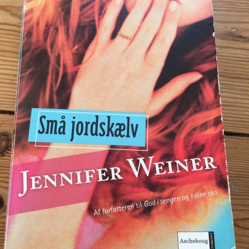 Små jordskælv, Jennifer Weiner, genre: roman