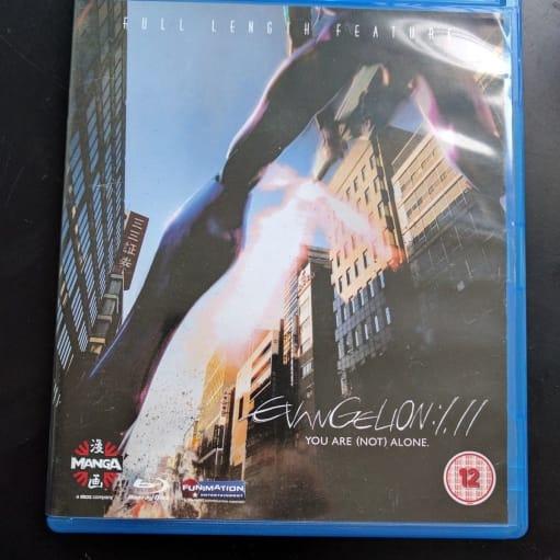 Evangelion 1.11, Blu-ray, animation, Neon Genesis Evangelion 1.11. Aldrig brugt. Har ikke haft en.