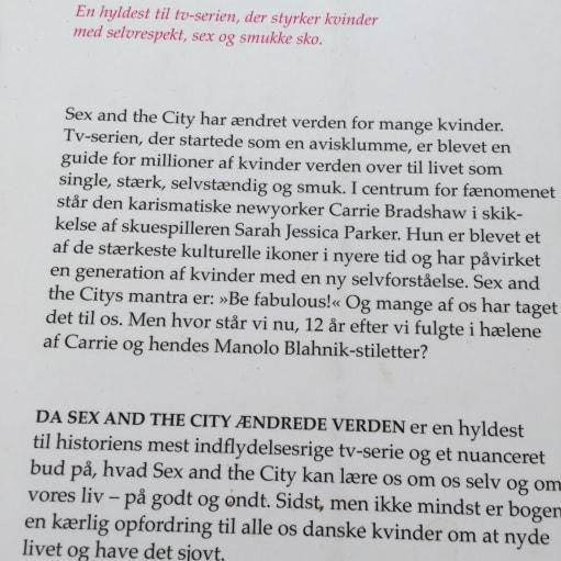 Da sex and the city ændrede verden, Iben Albinus, genre: roman