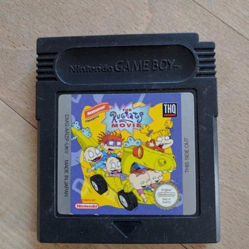 RugRats, Gameboy, anden genre, Rugrats spil til den originale Gameboy. Sælger ud af alle mine spi.