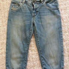 Shorts, Diesel, str. 26, Denim blue, Bomuld & elesthan, Næsten som