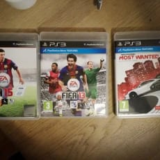 FIFA, Need For Speed, PS3, sport