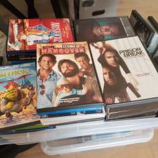 Disneyanimation, DVD, animation, Sælger 19 forskellige Disneyanimations film. 20,- kr. stk. KØ.
