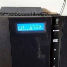 AMFM radio, Hitachi, Perfekt, har den her radio der ikke bliver brugt virker perfect kan bruge c.