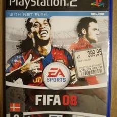 FIFA, Battlefield, Biler, PS2, sport, Biler (2006) Battlefield 2 modern combat (2005). Nypris: 3.